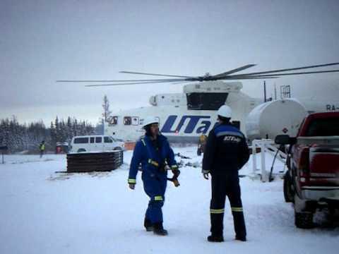 Biggest helicopter, Utair MI26, Part 1