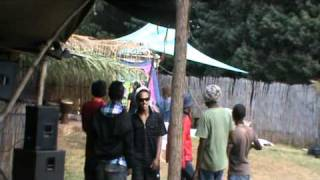 Backyard crew on the decks @ Jammin n ting 2011 saturday mid day