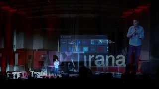 Connecting proprietary platform and CloudSilos: Donald LEKA at TEDxTirana