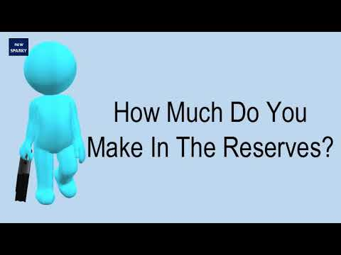 How Much Do You Make In The Reserves?