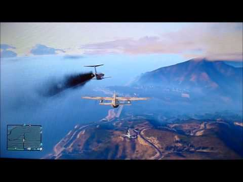 Can a Luxor land on a Titan? - GTA 5