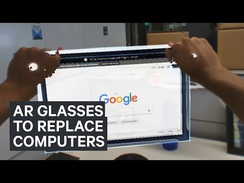 Augmented reality smartglasses could replace computers