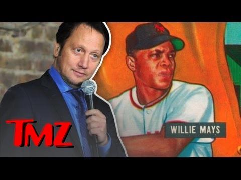 Rob Schneider's $175,000 Willie Mays Baseball Card Was Stolen | TMZ