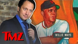 Rob Schneider's $175,000 Willie Mays Baseball Card Was Stolen