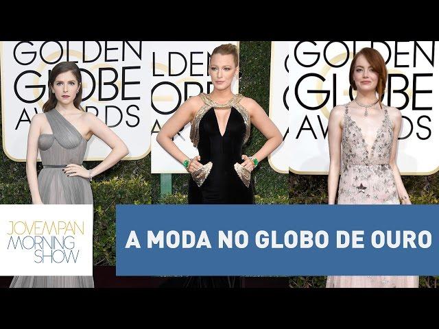 A moda no Globo de Ouro: Manu Carvalho analisa os looks dos famosos | Morning Show
