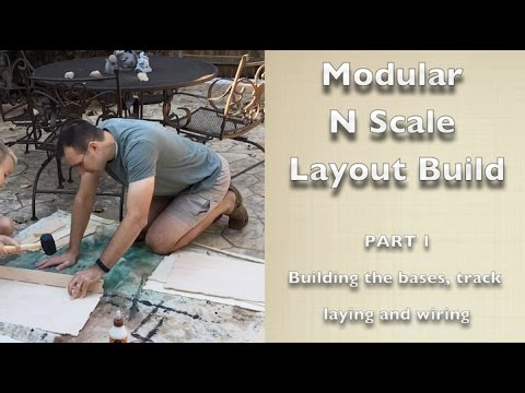 Modular N Scale Layout Build Part 1