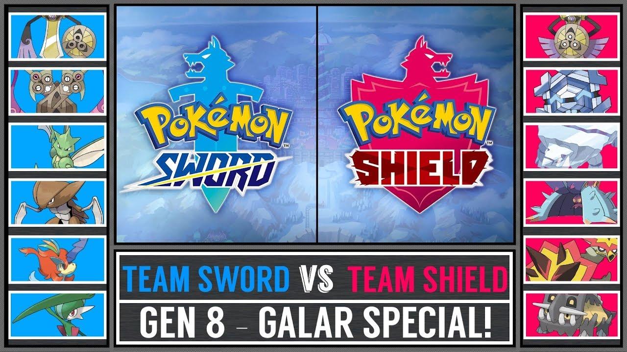 Pokemon Sword Vs Shield Galar Region Battle Pokemon Sun Moon