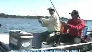 Pesca Dinâmica - Pescaria de Piaparas em Paulicéia SP, Parte 1
