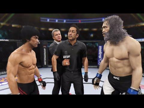Bruce Lee vs. Goliath (EA Sports UFC 2) - CPU vs. CPU