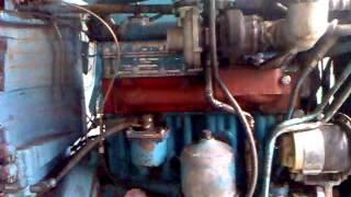 Работа двигателя д-240  с турбиной(Запуск двигателя с турбиной., 2013-04-13T18:48:53.000Z)
