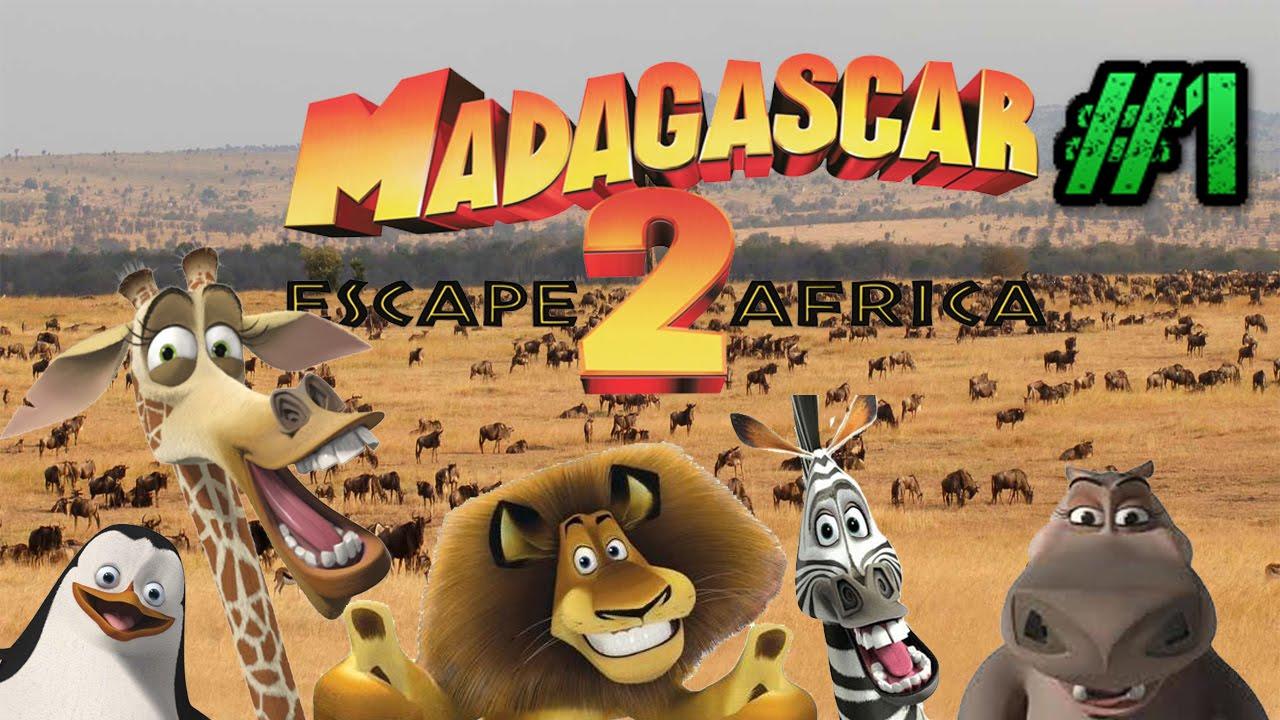 Madagascar escape 2 africa game part 1 viajas casino san diego buffet