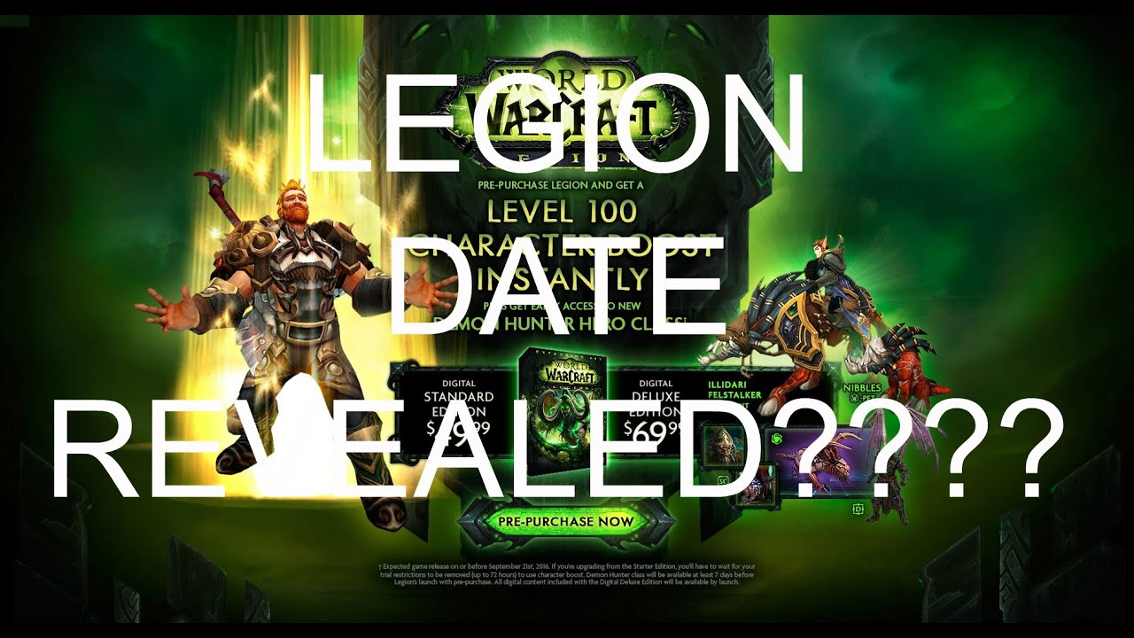 Legion release date in Brisbane