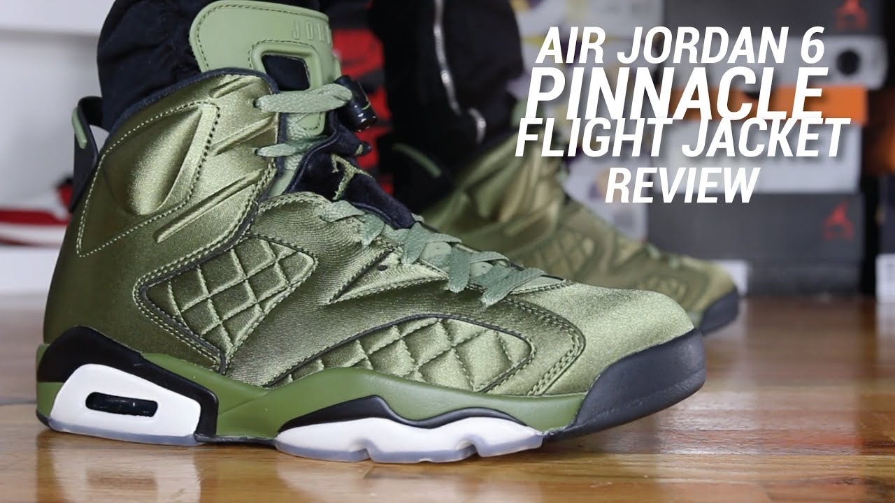 AIR JORDAN 6 PINNACLE FLIGHT JACKET REVIEW