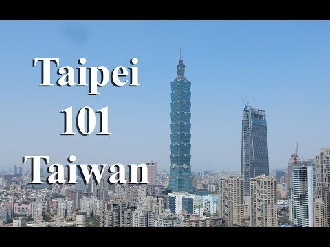 At the TOP of Taipei 101 Observatory Taiwan