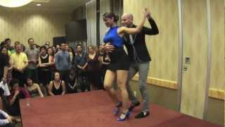 ataca y la alemana bachata performance at 2012 vancouver international salsa festival