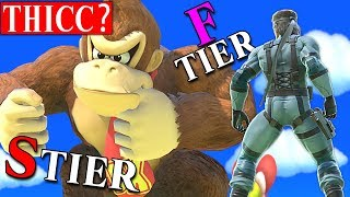 Important Smash Ultimate tier lists