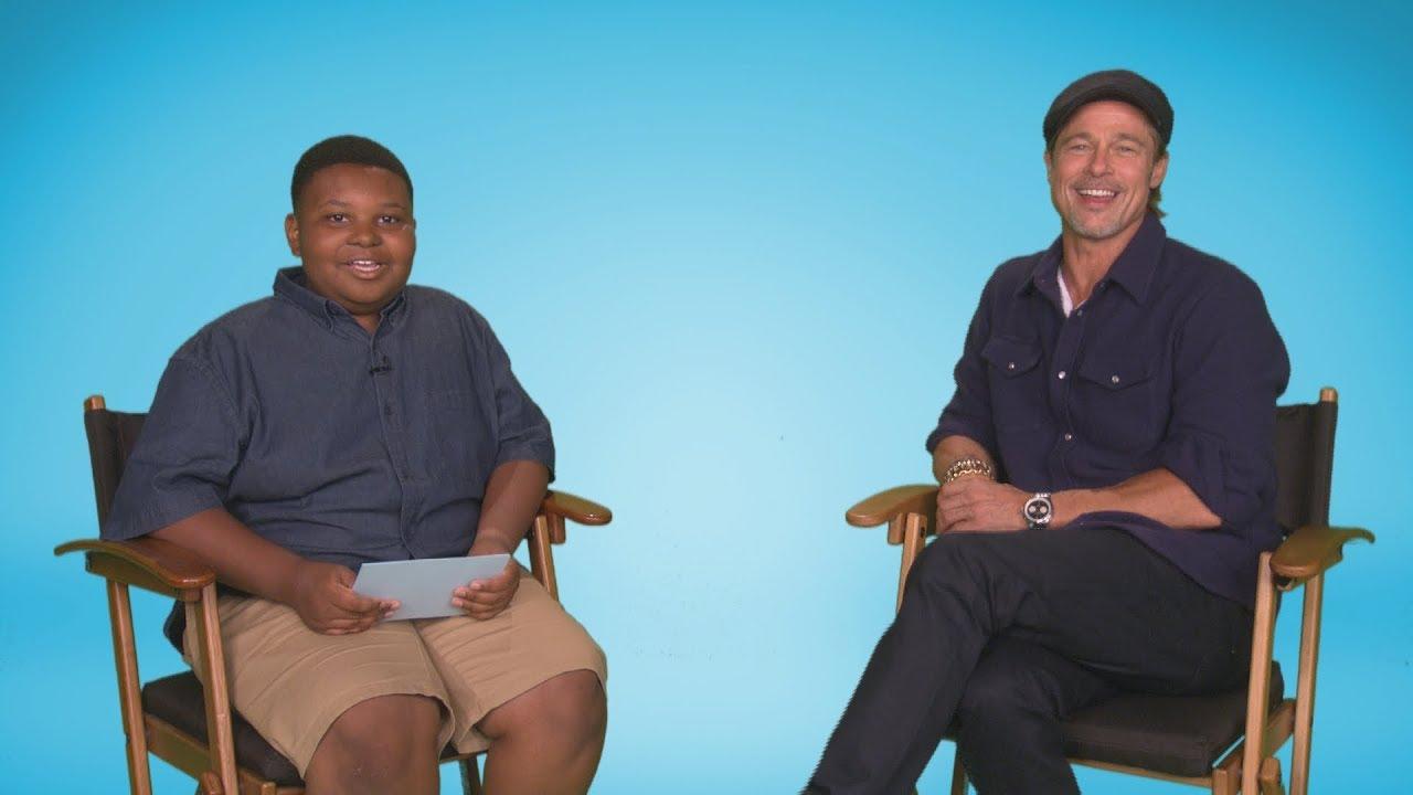 Our Kid Reporter Jaden Lands His Biggest Interview Yet: Brad Pitt!