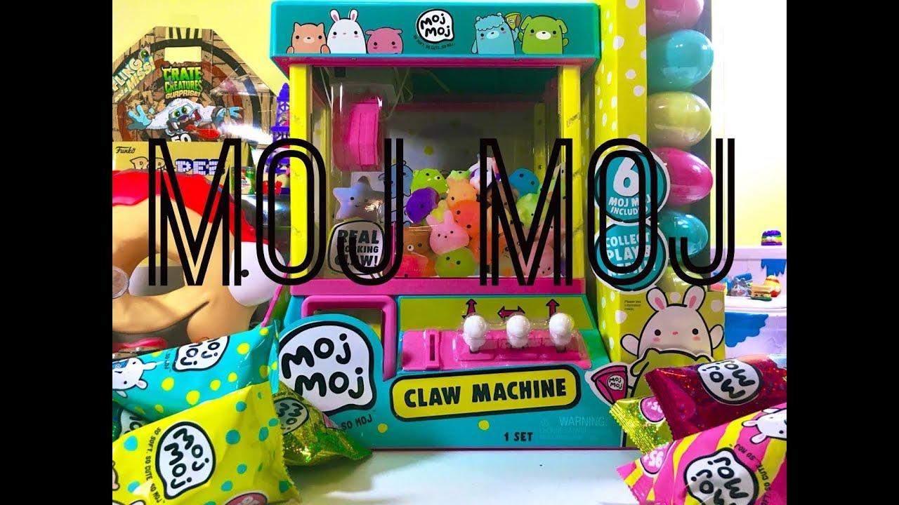 Moj Moj Claw Machine Unboxing and Play! - YouTube