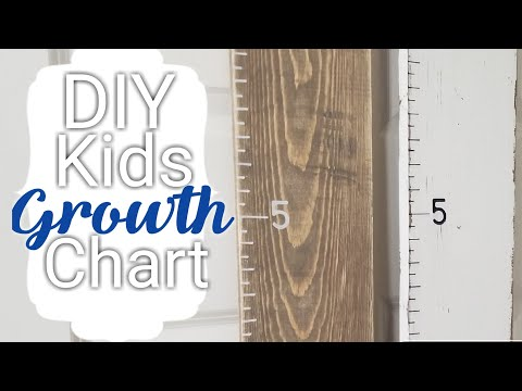 How to: DIY Kids Growth Chart