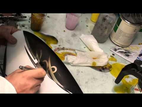 Buell Airbrush Painting Harley Davidson Peinture Perso Moto Aerografia Youtube