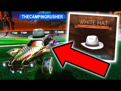 I OFFICIALLY OWN A WHITE HAT IN ROCKET LEAGUE!!