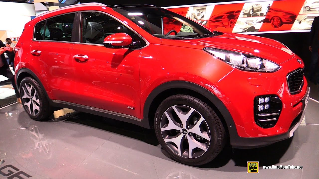 2016 kia sportage gt line exterior and interior walkaround debut at 2015 frankfurt motor. Black Bedroom Furniture Sets. Home Design Ideas