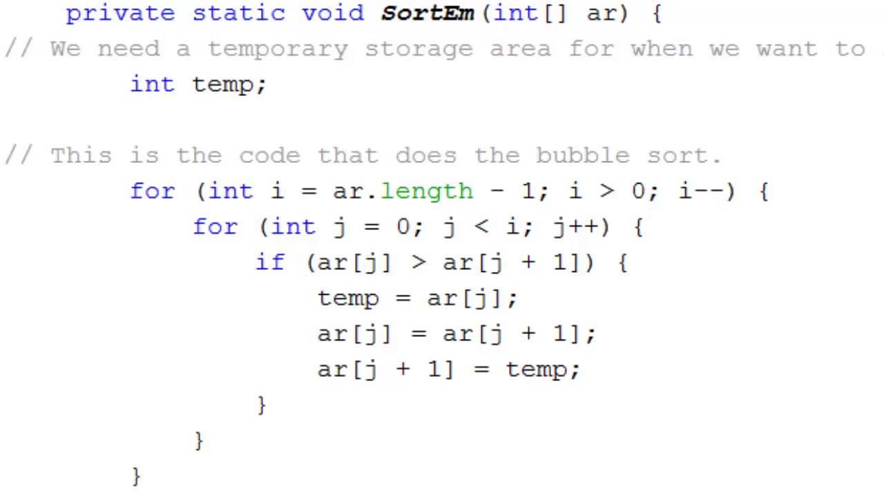 Merge Sort using C Program