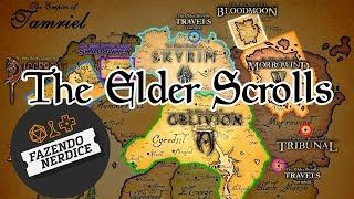 A História da Série Elder Scrolls