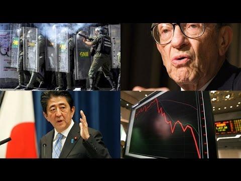 """A Crise do Dólar – Alan Greenspan """" Os EUA esta pronto para entrar num estado de desastre."""