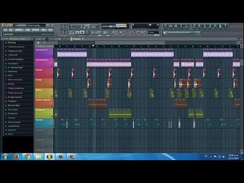 Corazoncito - Delirios / Pista Karaoke Fl Studio 10 - Kontakt  + MIDI Flp