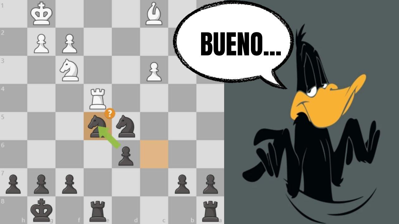 PEOR es NADA 🙄 | Defensa Alekhine