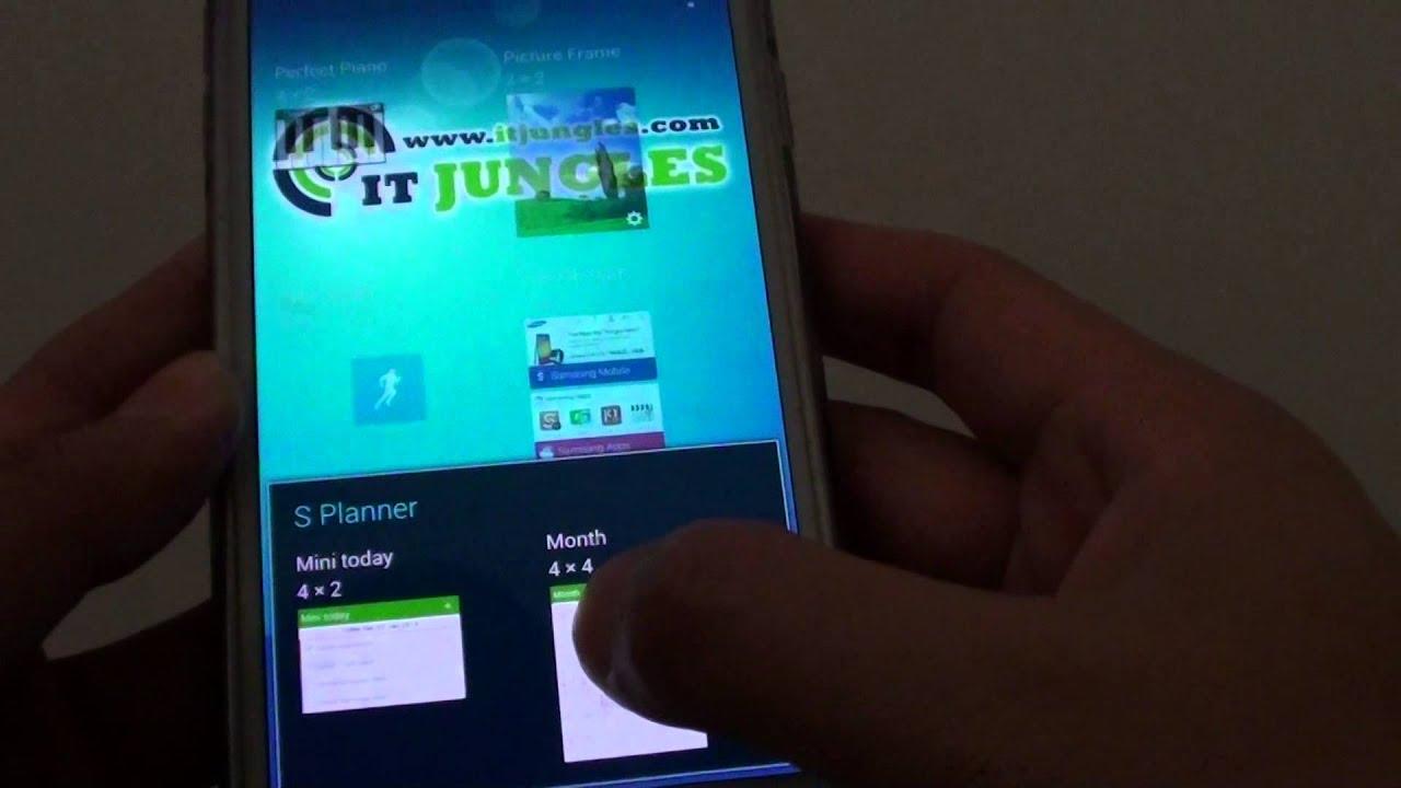 Samsung Galaxy S5: How To Add Calendar Widget To Home