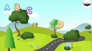 Aphabet with trainABC for ChildrenABC Aventureabc songabcd song