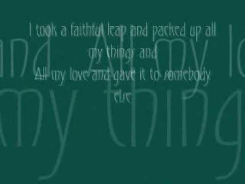 Soldier-Ingrid Michaelson (Lyrics on screen)