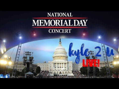 National Memorial Day Concert 2017 * Kyle2U LIVE with Kyle McMahon *