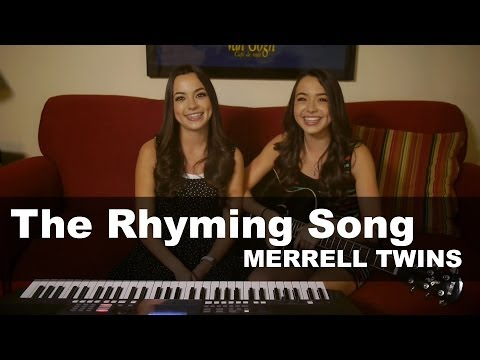 Merrell Twins  Rhyming Song