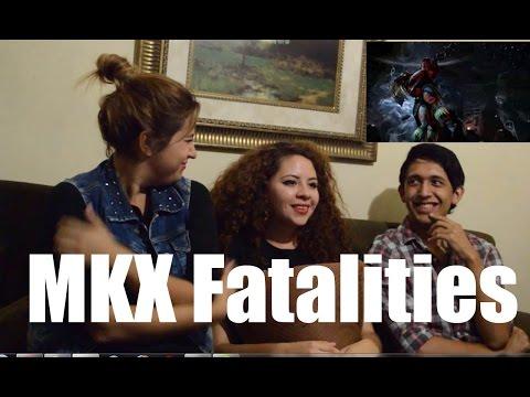 Mortal Kombat X - Fatalities (Video Reaccion!)