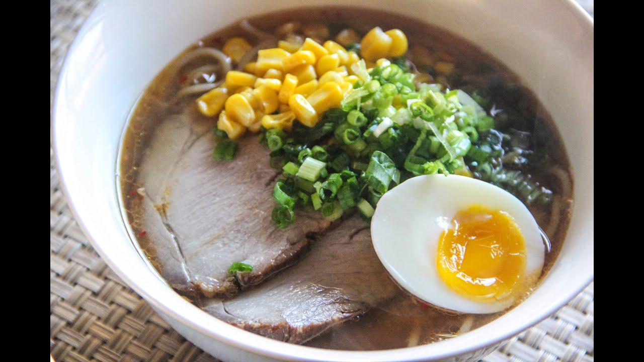 Miso Ramen Recipe Japanese Cooking 101 Youtube