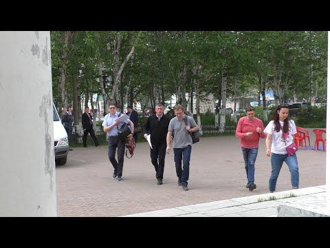 Валерий Лимаренко, второй визит в г. Оха
