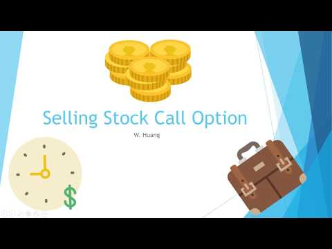 Selling Stock Call Options - With Examples