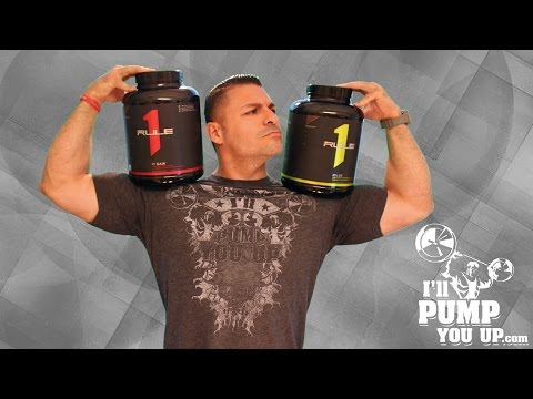 Rule 1 Nutrition R1 Protein Supplement Review with Taste Test