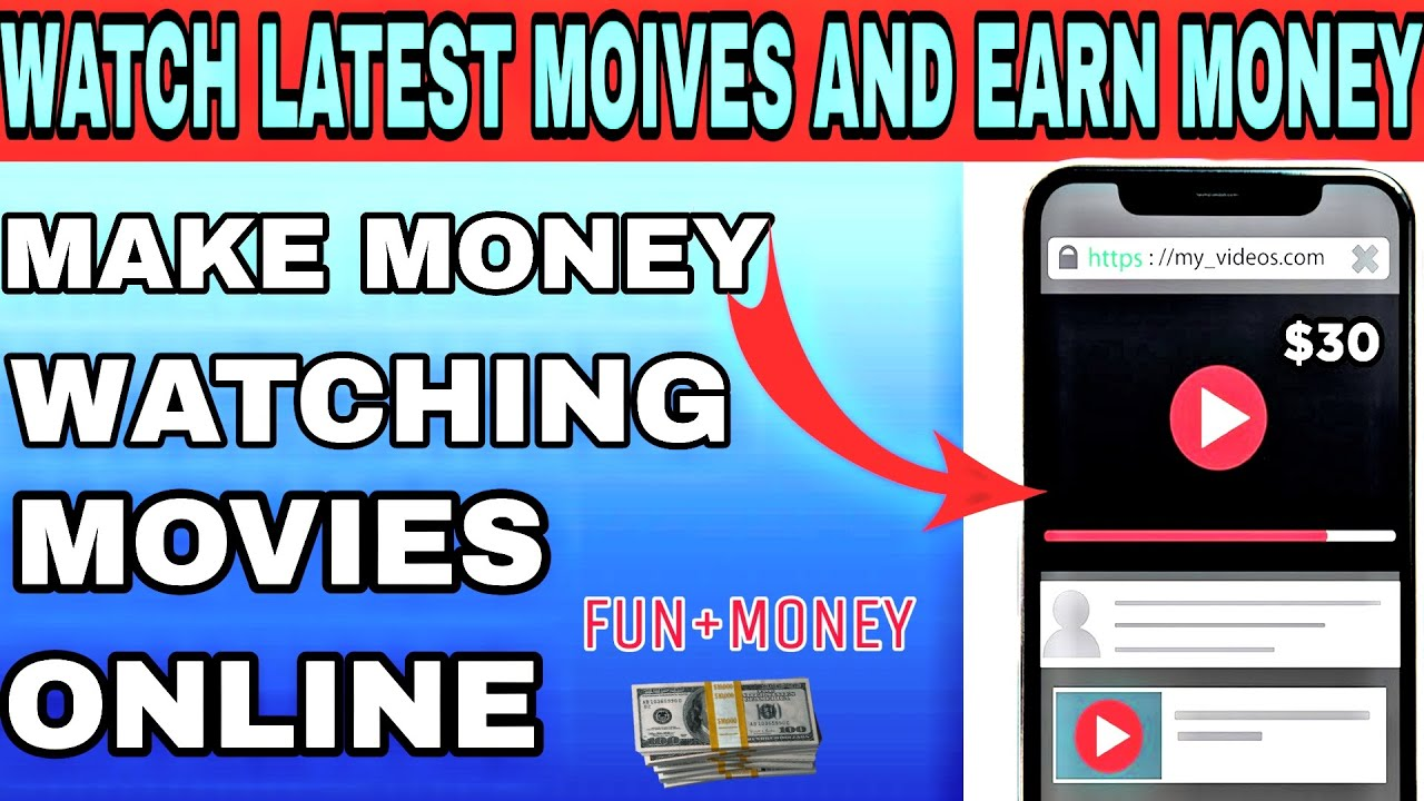 Watch Movies And Earn Money No Need Any Investment 2020 Youtube Earn Money Fun Money Investing