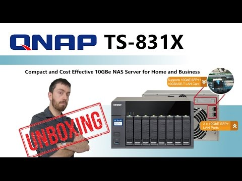 The QNAP TS-831X NAS 8-Bay 10GbE NAS – Unboxing the Cost