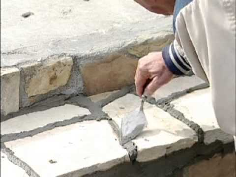 Building Stone Steps Youtube
