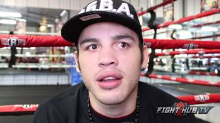 "Chavez Jr. ""I lost last fight more so because I was tired"" Talks Robert Garcia as new trainer"