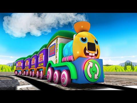 Download Toy Factory Hospital Medical Service - Choo Choo Toy Tran Cartoon Cartoon Kereta Api