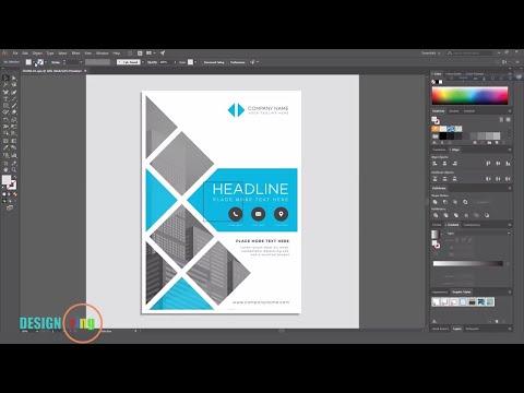 Adobe Illustrator Flyer design tutorial Poster Design Design ring Photoshop CC 2017
