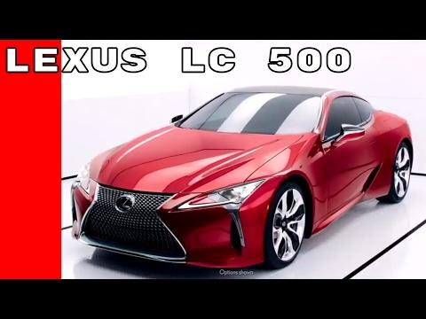 Lexus LC 500 Commercial Trailer