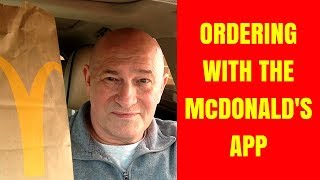 How to order through the McDonald's app