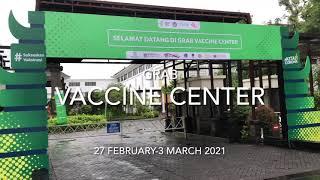 BALI NUSA DUA CONVENTION CENTER  (BNDCC) THE OFFICIAL VENUE OF GRAB VACCINE CENTER
